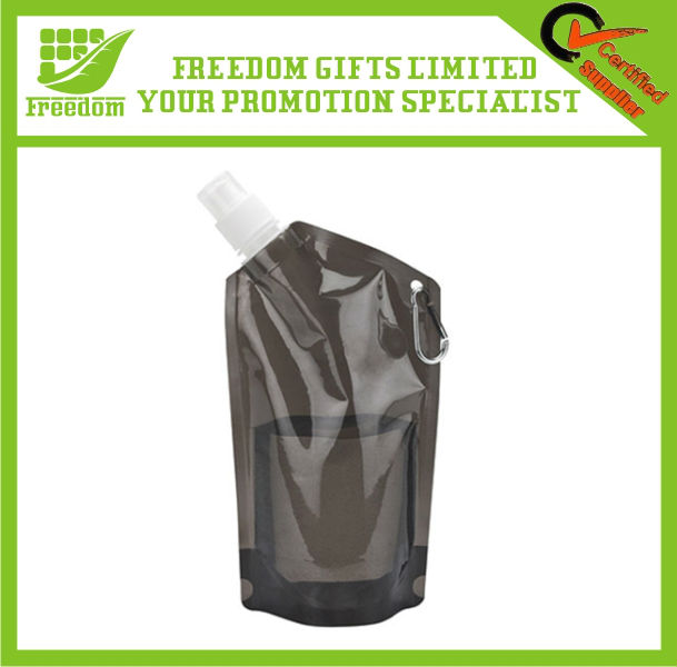 Promotional Customized Logo Branded PE Water Bottle