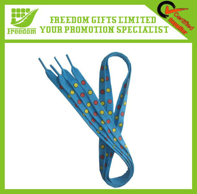 Logo OEM Printed Promotional Shoelaces