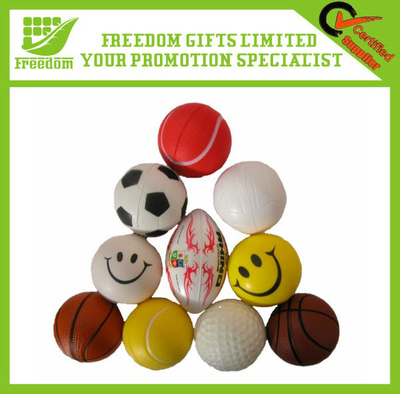 Any Logo Can Be Customized Soft Toy Bouncy Ball