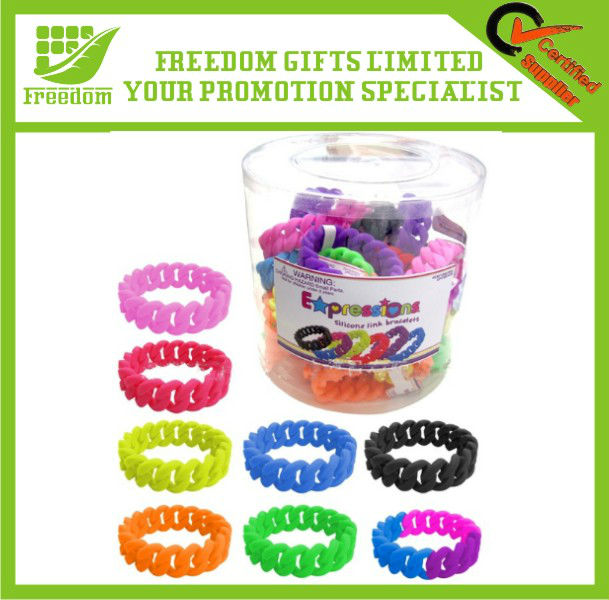 Most Popular Multicolors Twist Silicone Bracelet