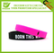 Logo Printed Cheap Promotional Silicone Wristband