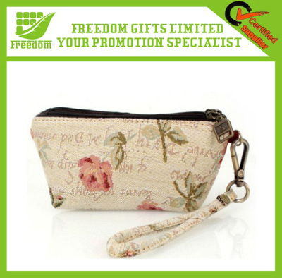 China Classic Cotton Cosmetic Bags