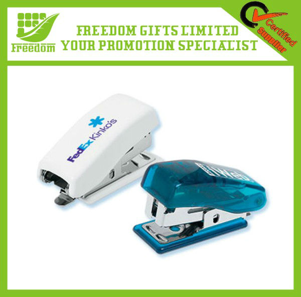 High Quality Custom Logo Printed Plastic Stapler