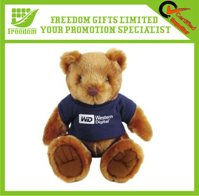 Cute Logo Branded Promotional Teddy Bear