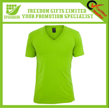 Cotton Short Sleeve Green T Shirts For Promotion