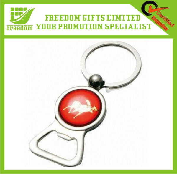 Customized Metal Bottle Opener Keychain