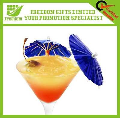 Custom Logo Printed Promotional Coctail Pick