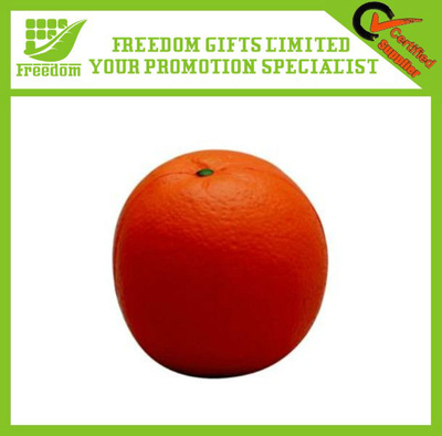 Advertising Logo Foam Orange Stress Ball