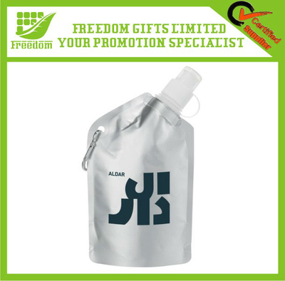 Promotional Custom PE Metallic Collapsible Bottle