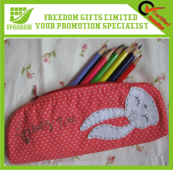Promotional Logo Printed Custom Pencil Case