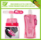Carabiner Attached Promotional Collapsible Drinking Bottle