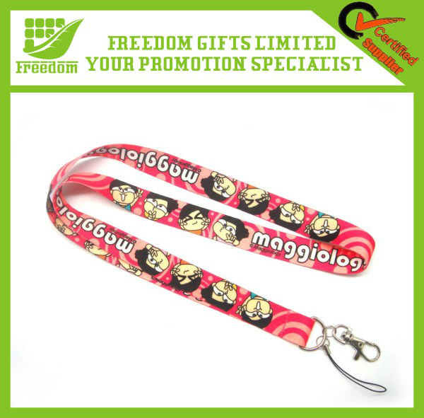 Cheap Custom Polyester Ego Lanyard