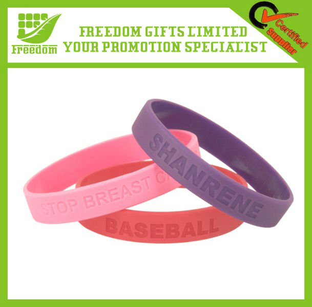 Advertising Thin Silicone Wristband
