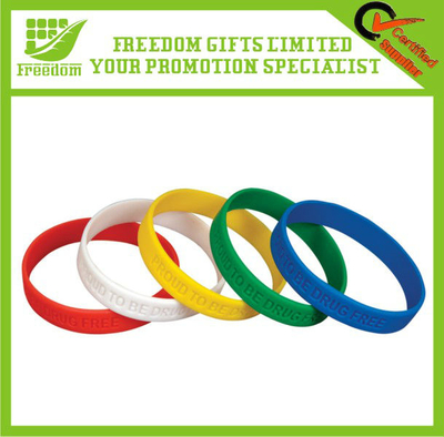 New Design Promotional Silicon Wristband Bracelet