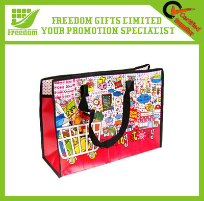 Promotional Printed Non Woven PP Shopping Bag