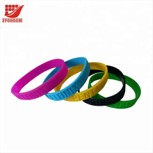 Advertising LOGO Printed Promotional Customized Silicone Wristbands