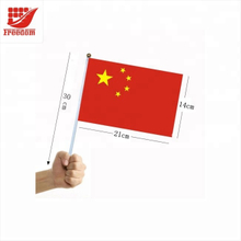 Hot selling Top Quality Logo Printed Plastic Hand Flag