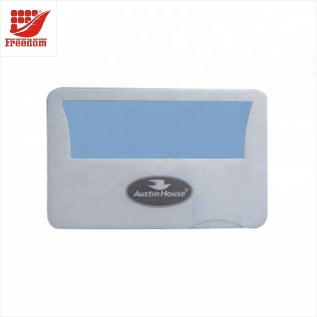 Wholesale High Quality Plastic Flexible Business Card With Magnifier