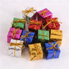Hot Sale Christmas Decorative Boxes and Bells for Tree Ornament