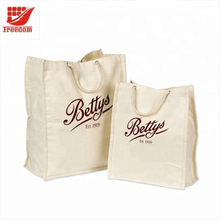 Logo Customized Top Quality Hand-made Cotton Bag