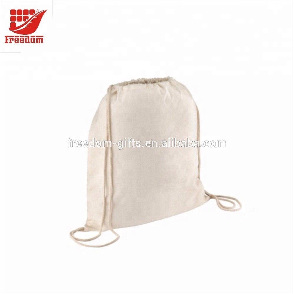 Promotional Customized Drawstring Bag Sports Backpack