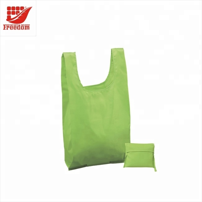 Customized Foldable Waterproof Ripstop Thick Nylon Shopping Bag Portable Travel bag Reusable
