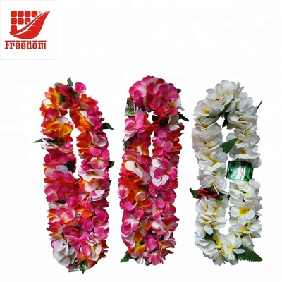 Customized Color Polyester Hawaii Flower Wreath