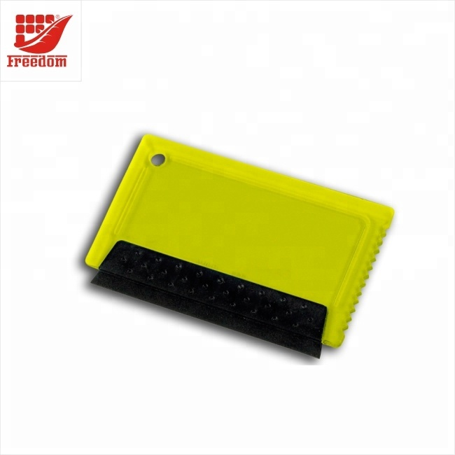 Promotional Logo Customized Plastic Snow Ice Scraper Cards