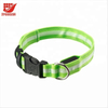 Customized Adjustable Nylon LED Light up Safety Dog Collars
