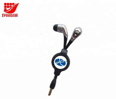 Logo Customized Promotional Retractable Earphone
