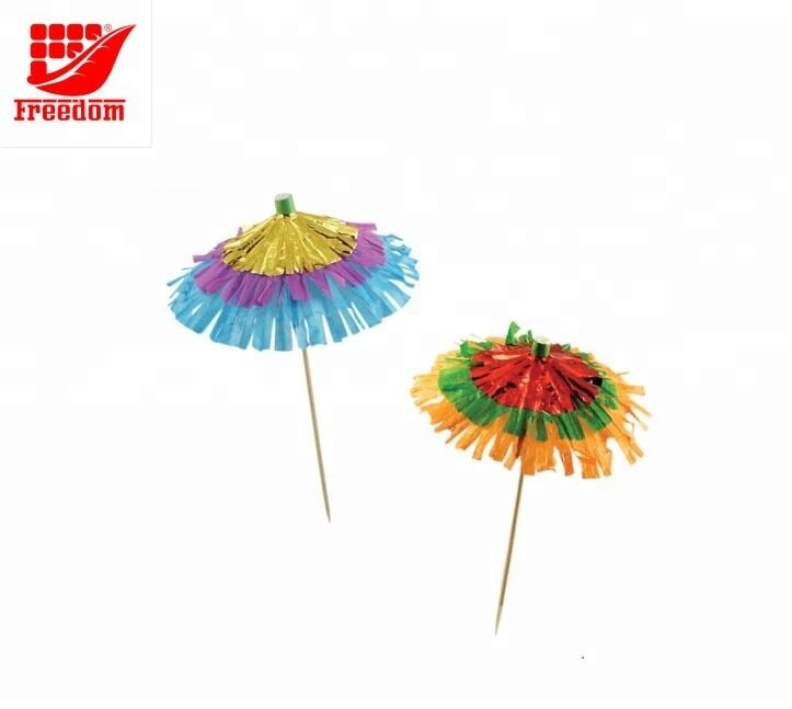 Hot Selling Promotional Custom Logo Printed Cocktail Umbrella