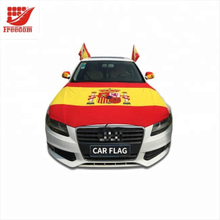 Hot Selling Elastic Spandex Car Flag Car Hood Engine Cover Flag