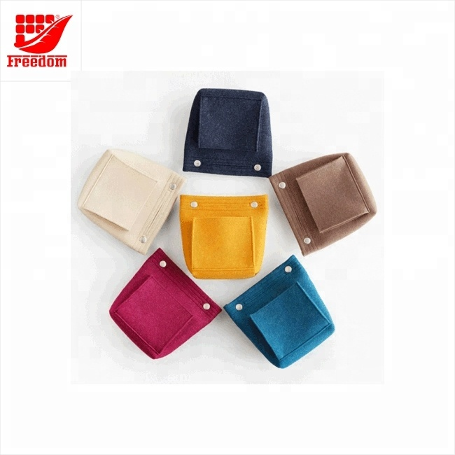 Brand lCustomized Felt Cosmetic Bag Makeup Travel Bag