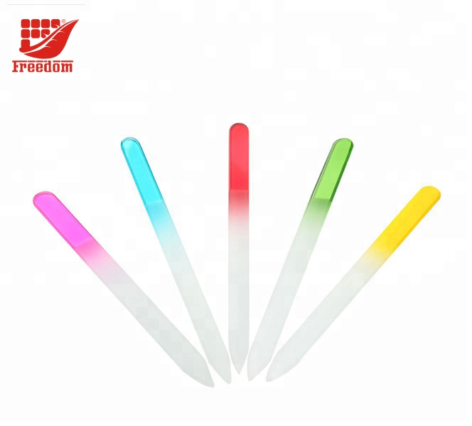 Advertising Custom Logo Colorful Glass Nail File