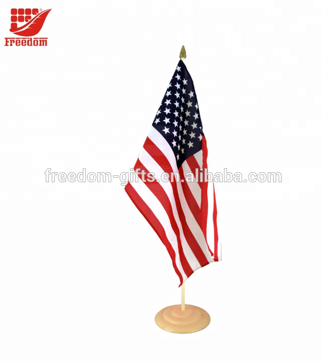Top Quality Customized Advertising Desk Flag