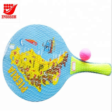 Funny Plastic Beach Ball Racket Games