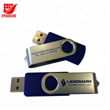 Best Selling Logo Printed Swivel USB Flash Drives