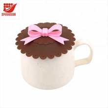 Silicone Cup Lids Mug Cover Suction Lids for Coffee and Tea Cup