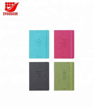 High Quality Customized PU Hard Cover Notebook