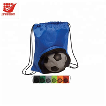 Hot Sale Backpack With Mesh Soccer Pocket Sports Drawstring Bag