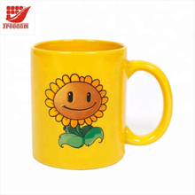 Printed Ceramic Color Changing Mugs Cups
